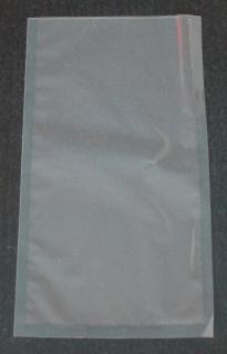 Вакуумный пакет 125×250 мм прозрачный ПЭТ/ПЭ - 120 мкм