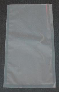 Вакуумный пакет 125×250 мм прозрачный ПЭТ/ПЭ - 105 мкм