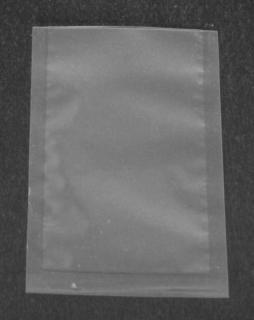 Вакуумный пакет 110×160 мм прозрачный ПЭТ/ПЭ - 115 мкм
