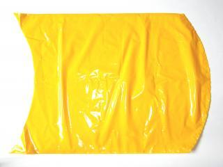 Вакуумный термоусадочный пакет 425×550 мм для сыра желтый