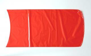 Вакуумный термоусадочный пакет 280×500 мм для сыра красный