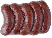 Вакуумная упаковка колбасок в вакуумные термоусадочные пакеты
